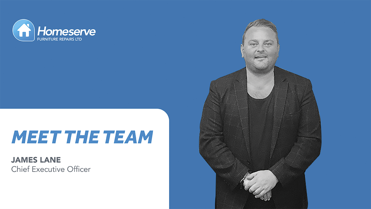 <!DOCTYPE html> <html> <head> </head> <body> <p>Meet The Team - Today we\'re meeting James who is our Chief Executive Officer, and we\'re finding out more about James and his role here at Homeserve Furniture Repairs.</p> </body> </html>